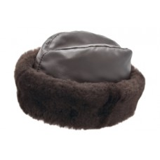 Style: 018 Leather Mouton Cossack Cap