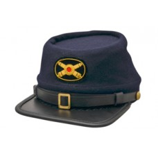 Style: 038 Kepi Cap with Artillery Crossed Cannons