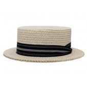 Style: 093 The Boater Straw Hat