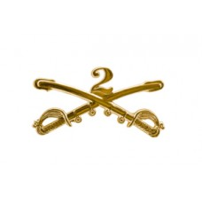 Style: 1040 2nd Cavalry Sabers Hat Pin