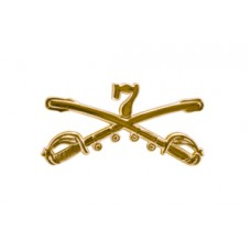 Style: 1045 7th Cavalry Sabers Hat Pin