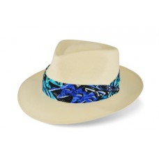 Style: 123 Shantung Teardrop Hat