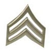 Style: 1254 Pair of Sergeant E-5 Rank