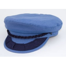 Style: 377 Greek Fisherman Denim Cap
