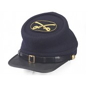 Style: 981 Kepi Cap with Cavalry Hat Badge