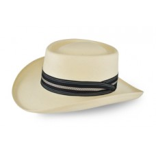 Style: 318 Gambler Straw Hat