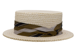 Style: 095 The Boater Straw