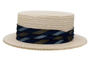 Style: 098 The Boater Straw