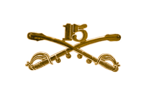 Style: 1052 15th Cavalry Sabers Hat Pin