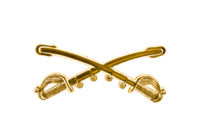 Style: 1056 Cavalry Sabers Hat Pin