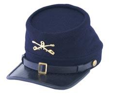 Style: 1779 Kepi 9th Buffalo Soldier Cap