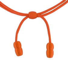 Style: 1806 Orange Acorn Band