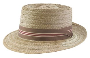 Style: 1964 Coconut Pork Pie Hat