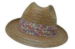 Style: 313 Pensacola Straw Hat