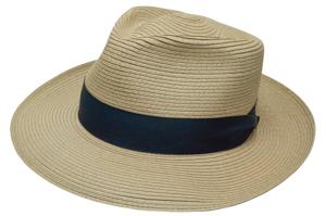 Style: 331 Milan Teardrop Straw Hat