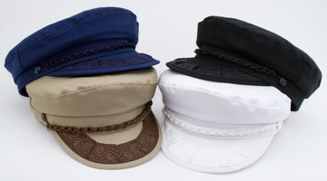 Style: 376 Greek Fisherman Cotton Cap