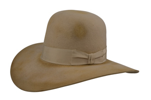 Style: PS-054 Open Crown/Downer Brim