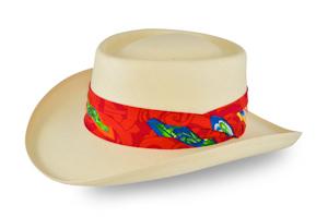 Style: 087 Gambler Straw Hat