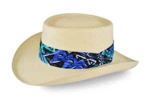 Style: 315 Gambler Straw Hat