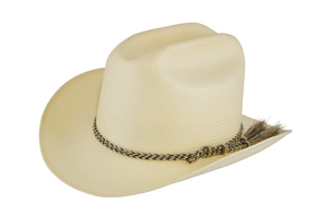 Style: WS-190 Shantung Rancher Hat
