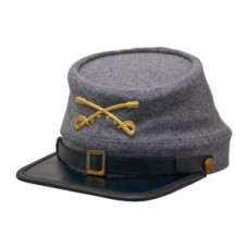Style: 034 Kepi Cap with Cavalry Crossed Sabers