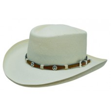 Style: 080 Gambler Straw Hat