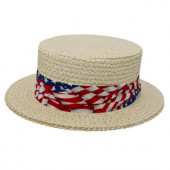 Style: 099 The Boater Straw Hat