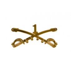 Style: 1039 1st Cavalry Sabers Hat Pin