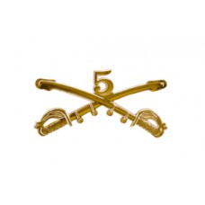 Style: 1043 5th Cavalry Sabers Hat Pin