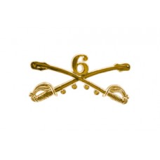 Style: 1044 6th Cavalry Sabers Hat Pin