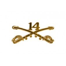 Style: 1051 14th Cavalry Sabers Hat Pin