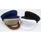 Style: 376 Greek Fisherman Cotton Cap