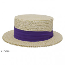 Style: 389 The Boater Straw Hat