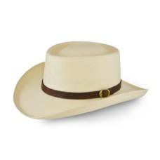 Style: 083 Gambler Straw Hat