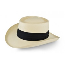 Style: 317 Gambler Straw Hat