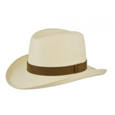 Style: S-271 Shantung Homburg Hat