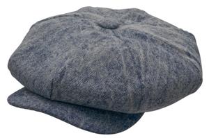 Style: 045 Big Apple Washed Denim Cap