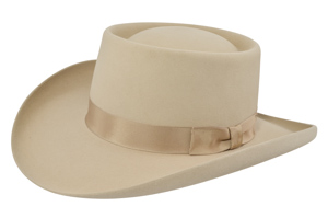 Style: 050 The Miller Gambler Cowboy Hat