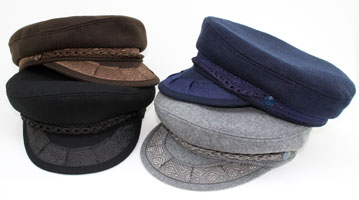 Style: 096 Greek Fisherman Wool Cap