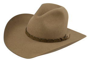 Style: 105 Gus Crown/Boss Brim Cowboy Hat