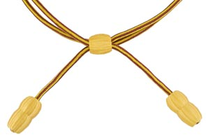 Style: 1810 Lt. Red/Yellow (gold) Acorn Band