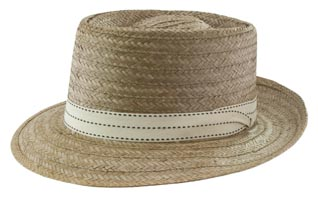 Style: 1965 Coconut Pork Pie Hat