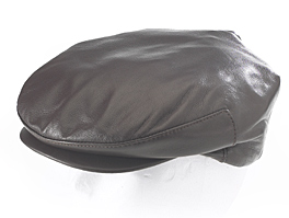 Style: 201 Ivy Lambskin Leather Cap