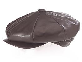 Style: 208 Lambskin Leather Cap