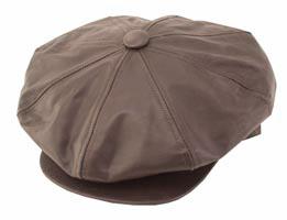 Style: 215 Big Apple Leather Cap