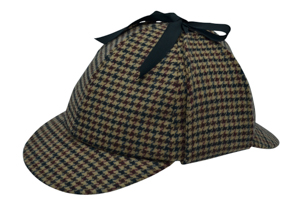Style: 362 Sherlock Holmes Plaid Cap