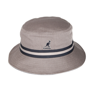 Style: 501 Kangol Stripe Lahinch Bucket Hat