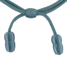 Style: 555 Infantry Blue Acorn Band