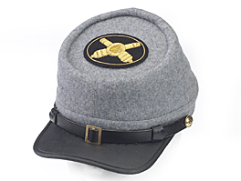 Style: 978 Kepi Cap with Artillery Hat Badge