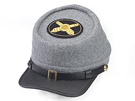 Style: 978 Kepi Cap with Artillery Hat Badge